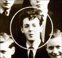 Teenage Paul In Class Photo