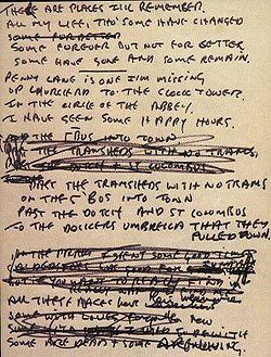 Beatles i looking through you lyrics