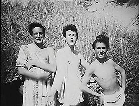 Teenage Paul With George Harrison And Unknown Mate