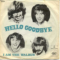"""Hello, Goodbye"" cover"
